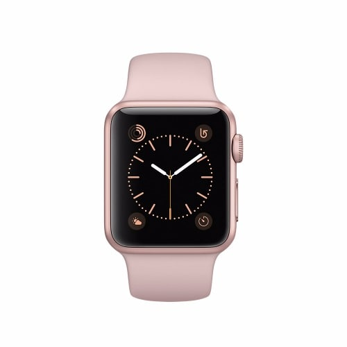 pretty nice d0971 bba58 Watch Series 3 (GPS + Cellular) - 38mm Gold Aluminum Case - Pink Sand Sport  Band