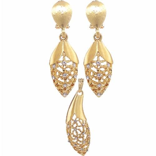 /W/a/Water-Drop-Design-Earring-Pendant-Set---Gold-5613923.jpg
