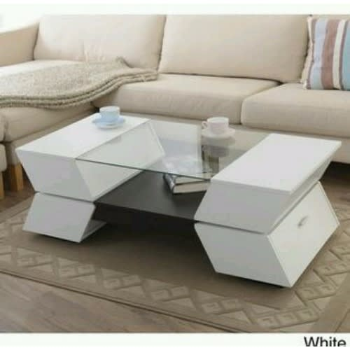 White Modern Center Table