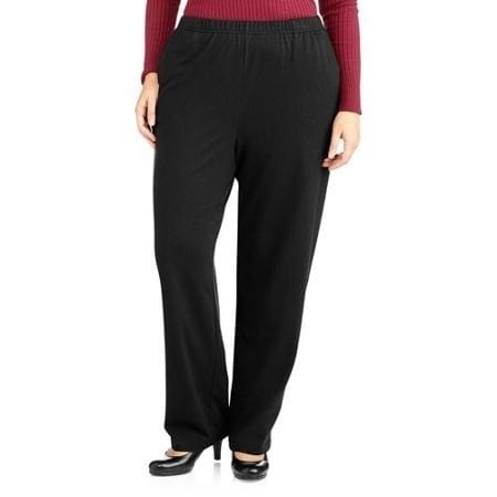 e33aa90524d White Stag Women s Plus-Size Basic Knit Pull-On Pants