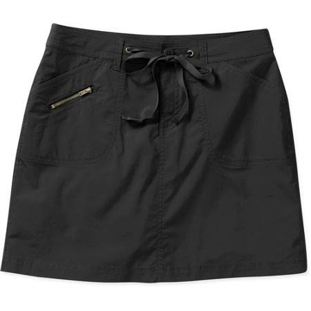0a731b60d02f4 White Stag Women s Skirt with Attached Shorts - Black