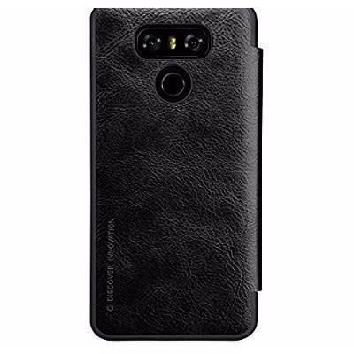 quality design 0a6bc 891fb Nillkin Window View Smart Flip Case For LG G6 - Black   Konga Online  Shopping