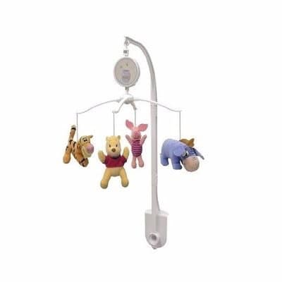 Winnie The Pooh Mobile Musical Accessory
