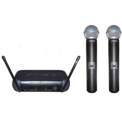 shure wireless microphone system pgx242 sm58 konga online shopping. Black Bedroom Furniture Sets. Home Design Ideas