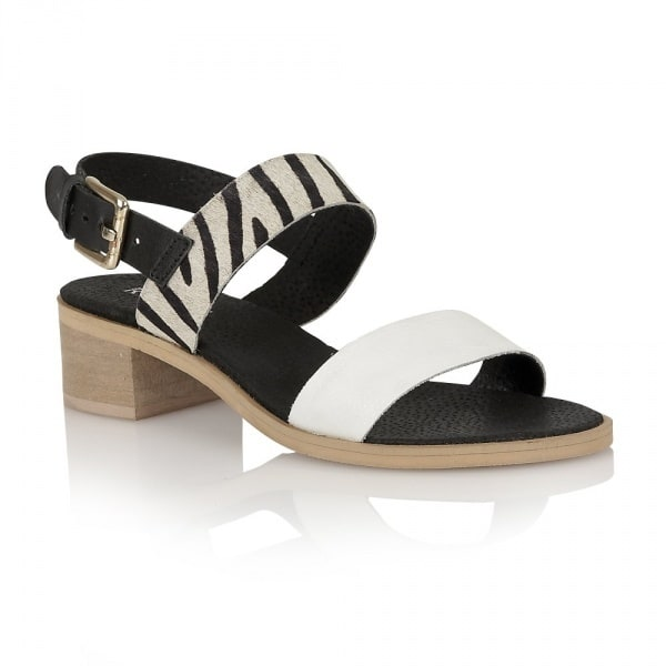 afdb2e31d7b3a0 Ravel Women s Columbus Sandals - Black   White