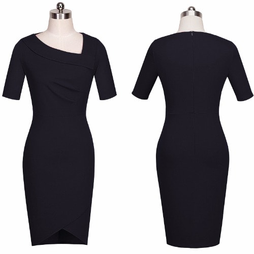 /W/o/Women-s-Elegant-Casual-Work-Half-Sleeve-Dress---Black-7806633_2.jpg
