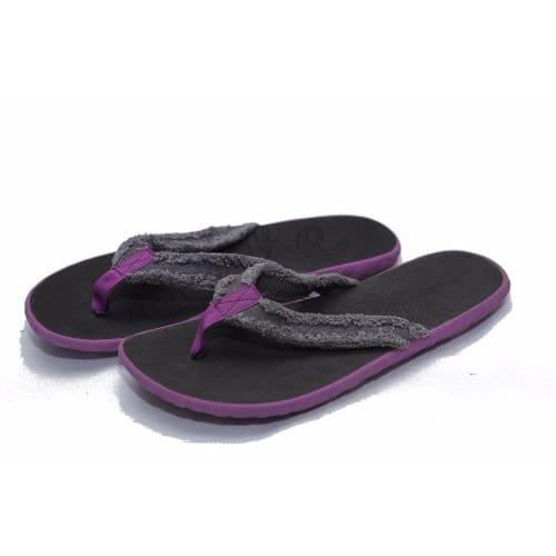 0478a02e28ca Cushe Women s Flipper - Grey   Purple