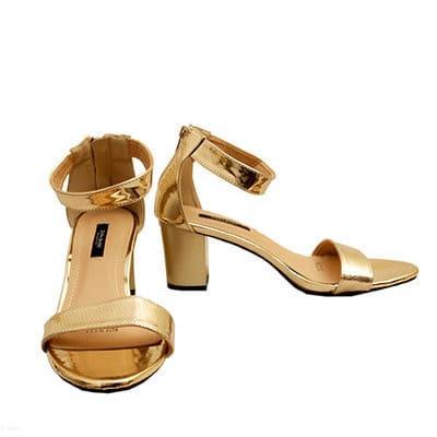 34d515661d4 Women's Heel Sandal - Gold