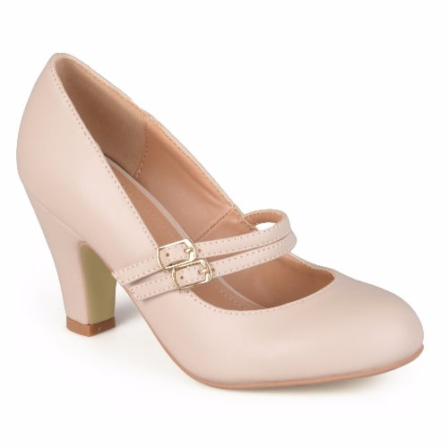 789fd3144cb Journee Collection Women's Mary Jane Leather Pumps | Konga Online ...