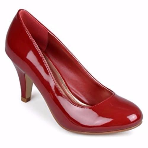8e2aee13e9e Journee Collection Women's Round Toe Patent Pumps | Konga Online ...