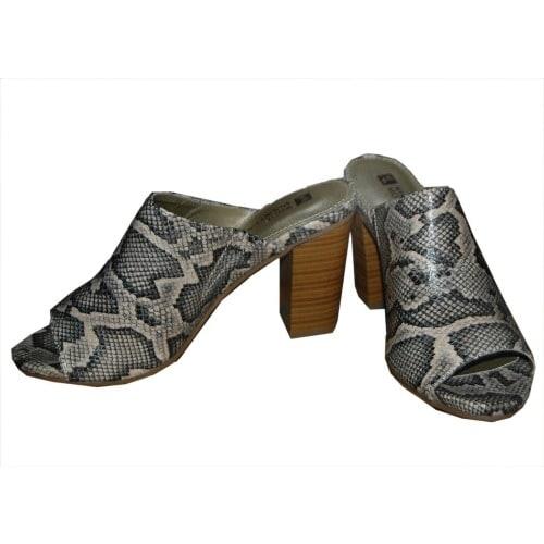 8a1e0c8ed9f9a Women's Snake Skin Mules