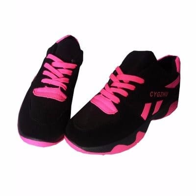 Women's Sneakers - Black \u0026 Pink | Konga
