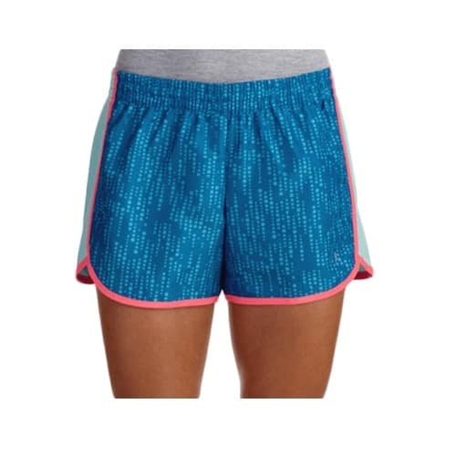 a4bcf885612 Danskin Now Women s Woven Running Shorts with Mesh Panel and Hidden ID  Pocket - Blue