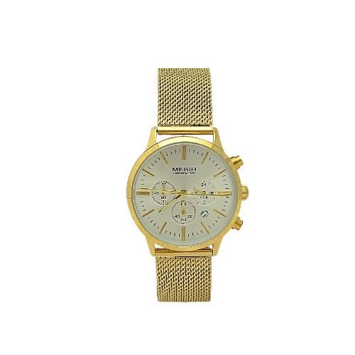 /W/o/Woven-Steel-Strap-Chronograph-Watch---Gold-7691328.jpg