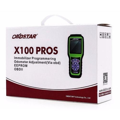 X100 PROS Key Programmer C+D+E model with EEprom  Adapter+Immobiliser+Odometer
