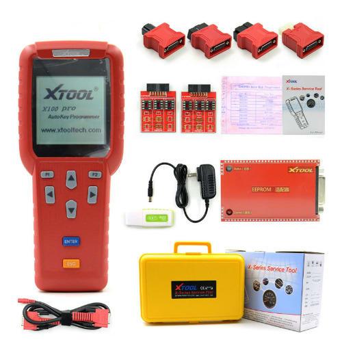 X100 Pro Auto Key Programmer With EEPROM Adapters | Konga