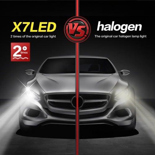 Halogen Light For Cars >> Universal Chef X7 Led Car Headlight Halogen Bulb Konga Online