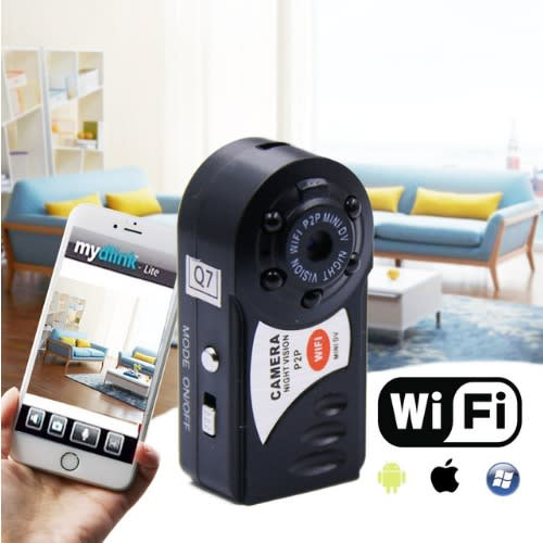 Pocket Wifi Camera Q7 Cam Upgrade 720p Hd Mini Dv Wireless Ip