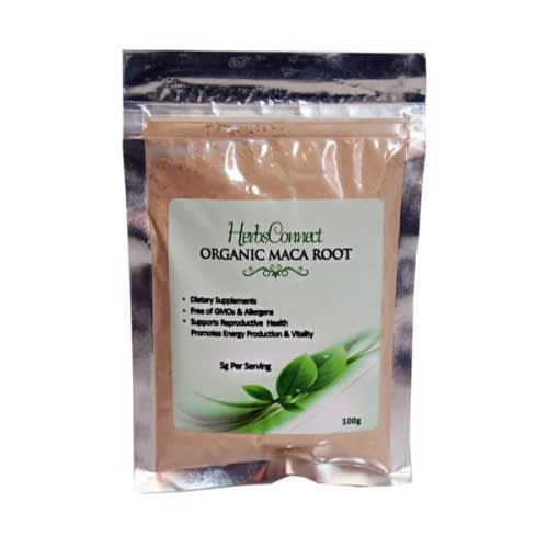 Organic Maca Root Powder - 100g.
