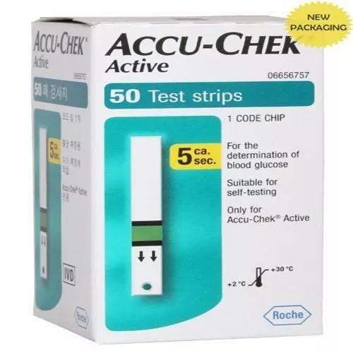 Accu-Chek Active 50 Test Strips.