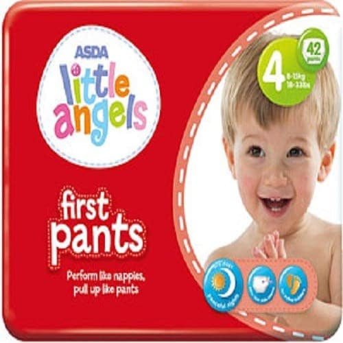 Little Angel First Pant - Size 4 - 42 Pieces