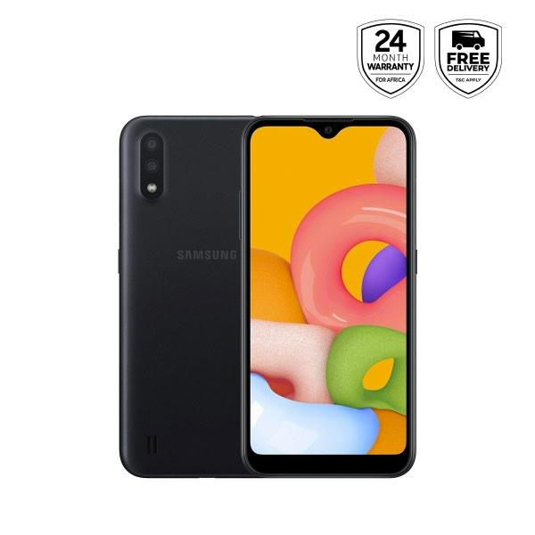 Galaxy A01 - Black- 16gb Rom +2gb Ram, 13mp, Dual Sim.