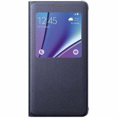 sale retailer f0c55 3cde5 S-view Flip Cover For Samsung Galaxy S6 Edge Plus