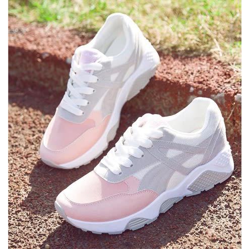 Women's Sneakers - Pink \u0026 White | Konga
