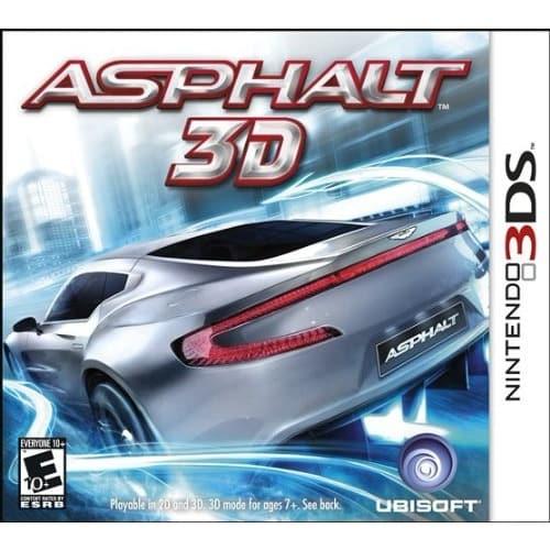 Asphalt 3D-Nintendo 3DS - NTSC