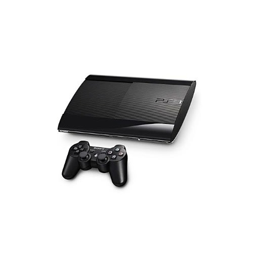 Playstation 3 320GB Super Slim Console+ 20 Bonus Games Includes Fifa 19, Pes 19, Gta 5