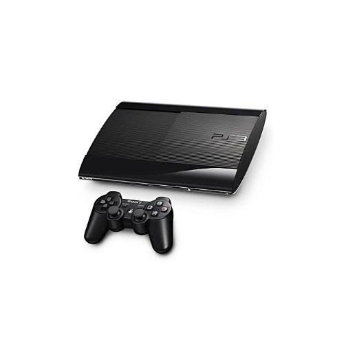 Playstation 3 320GB Super Slim Console+ 20 Bonus Games Includes Fifa 19, Pes 19, Gta 5