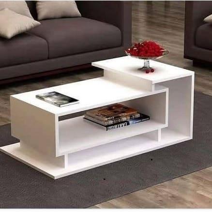 Mdf Wood Home Living Room Centre Table White Konga Online Shopping