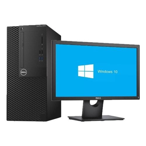 Optiplex 3050 Minitower Desktop - Intel Core I5-7500 500gb 4gb Freedos + 20'' Monitor