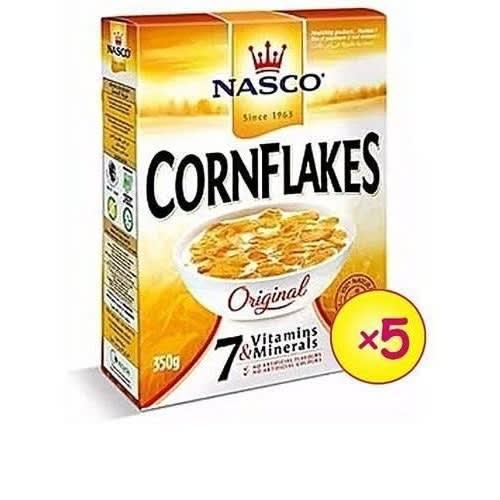 Nasco Cornflakes 350g X 5 Packs.