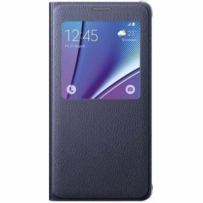 huge discount 54c71 53225 S-view Cover For Samsung Galaxy J7 Prime - Black