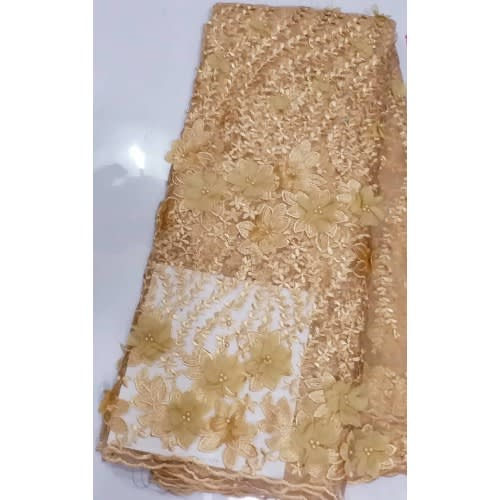 Netcord Lace - Gold - 5 Yards