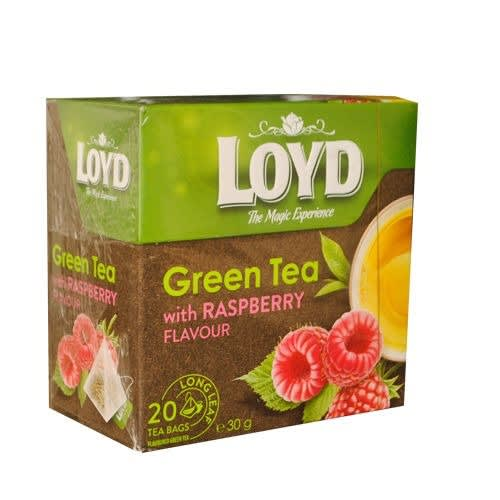 Premium Green Tea With Raspberry Sweet Fruity Flavour.