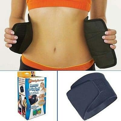 The Belly Burner Weight Loss Support Belt Black Konga Online