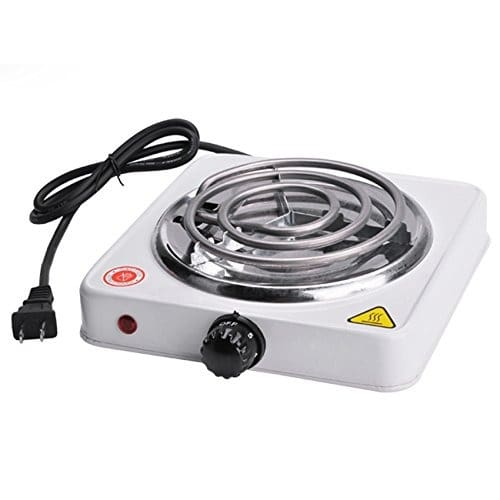 Mini Silex Portable Electric Burner Hot Plate - 1000w Us Plug For Cooking