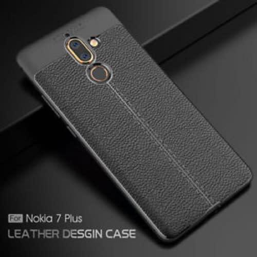newest 45911 20551 Back Case for Nokia 7 Plus - Black