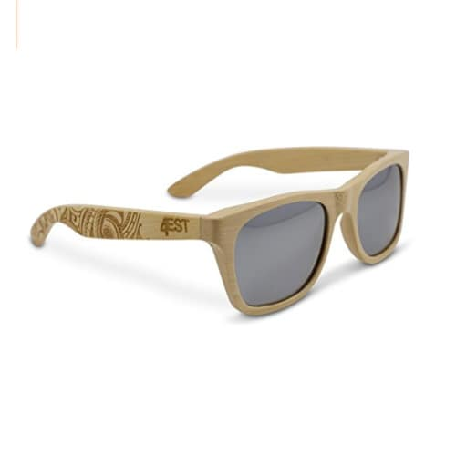 4b956deee8 Polarized Wood Sunglasses Wayfarer Style -uv Protection