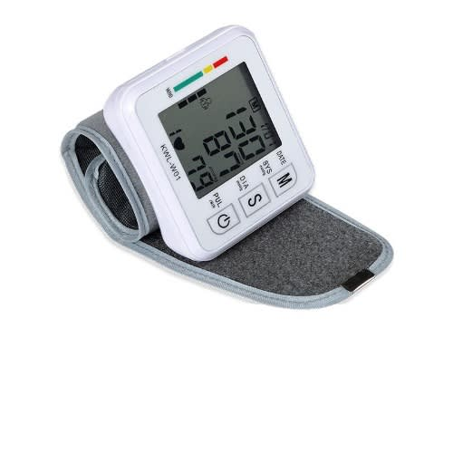 Portable Wrist Blood Pressure Lcd Display Monitor Device.
