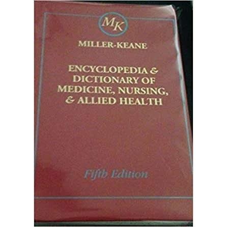 Encyclopedia And Dictionary Of Medicine Nursing And Al 5ed