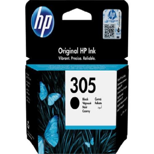 HP 305 Black Original Ink Cartridge (3ym61ae)