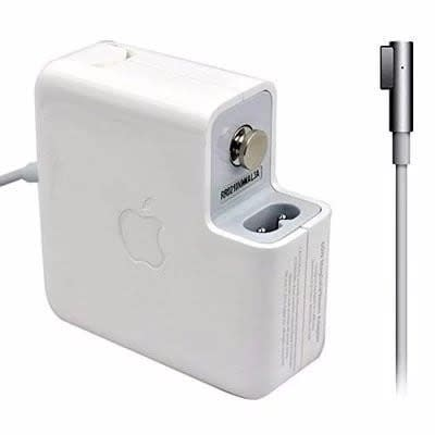 60w 16.5v Magsafe 1 L-tip Apple Charger Adapter Mac Book.