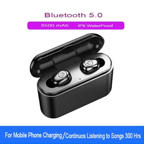 Twin Wireless Earbuds Bluetooth Earphones Bluetooth 5 0 Headphones With 3500mah Powerbank Konga Online Shopping