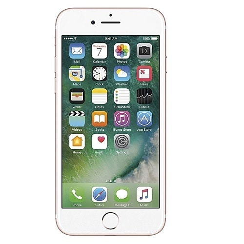 bd7014b6469 Apple iPhone 7 128GB Smartphone - Rose Gold