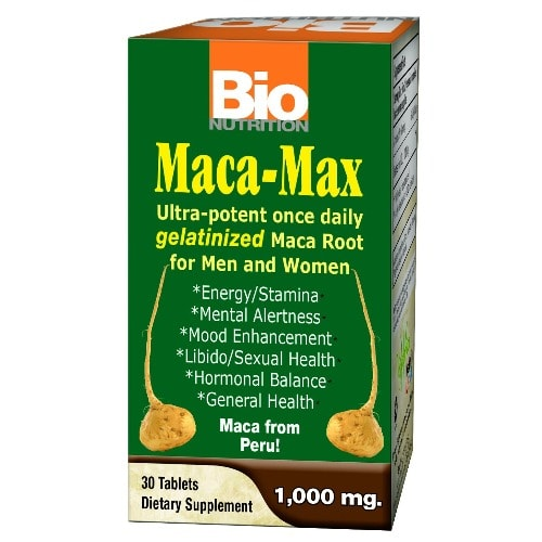 Maca Max 1000mg For Men & Women - 30 Tablets