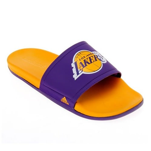dc9829dfc adidas Men s Los Angeles Lakers Slide