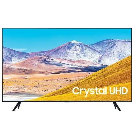 """Samsung 65"""" Crystal UHD 4K Smart TV 2020- Ua65tu8000uxke.."""
